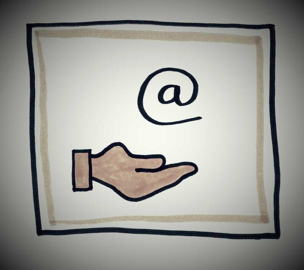 Weggever in ruil voor je emailadres